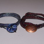 Daniels Leather Wrap Bracelet