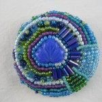 Mitchell Beaded Button